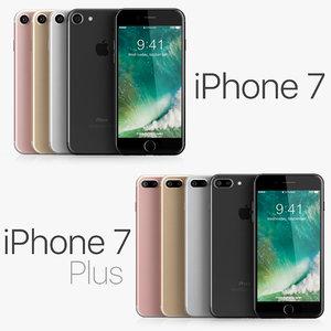3d apple iphone 7