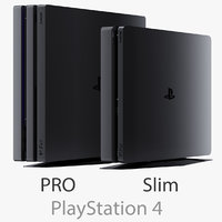Sony PlayStation 4 PRO and Slim
