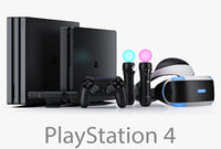 3d sony playstation 4 complete