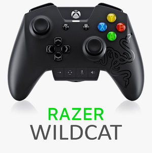 razer wildcat controller xbox 3d obj