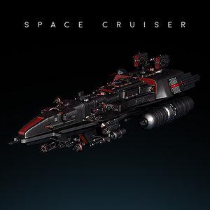 3d space cruiser