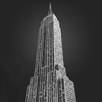 Empire State Building Untextured