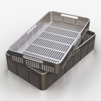 medical tool tray 3d obj