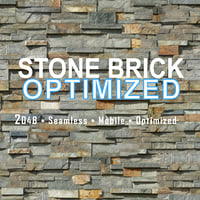2K Stone Brick Mobile Optimized