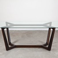 Glass Top Siku Dining Table