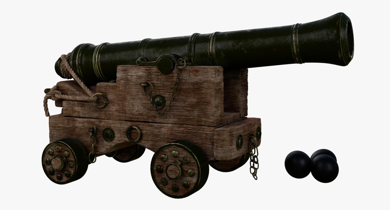 obj ship cannon