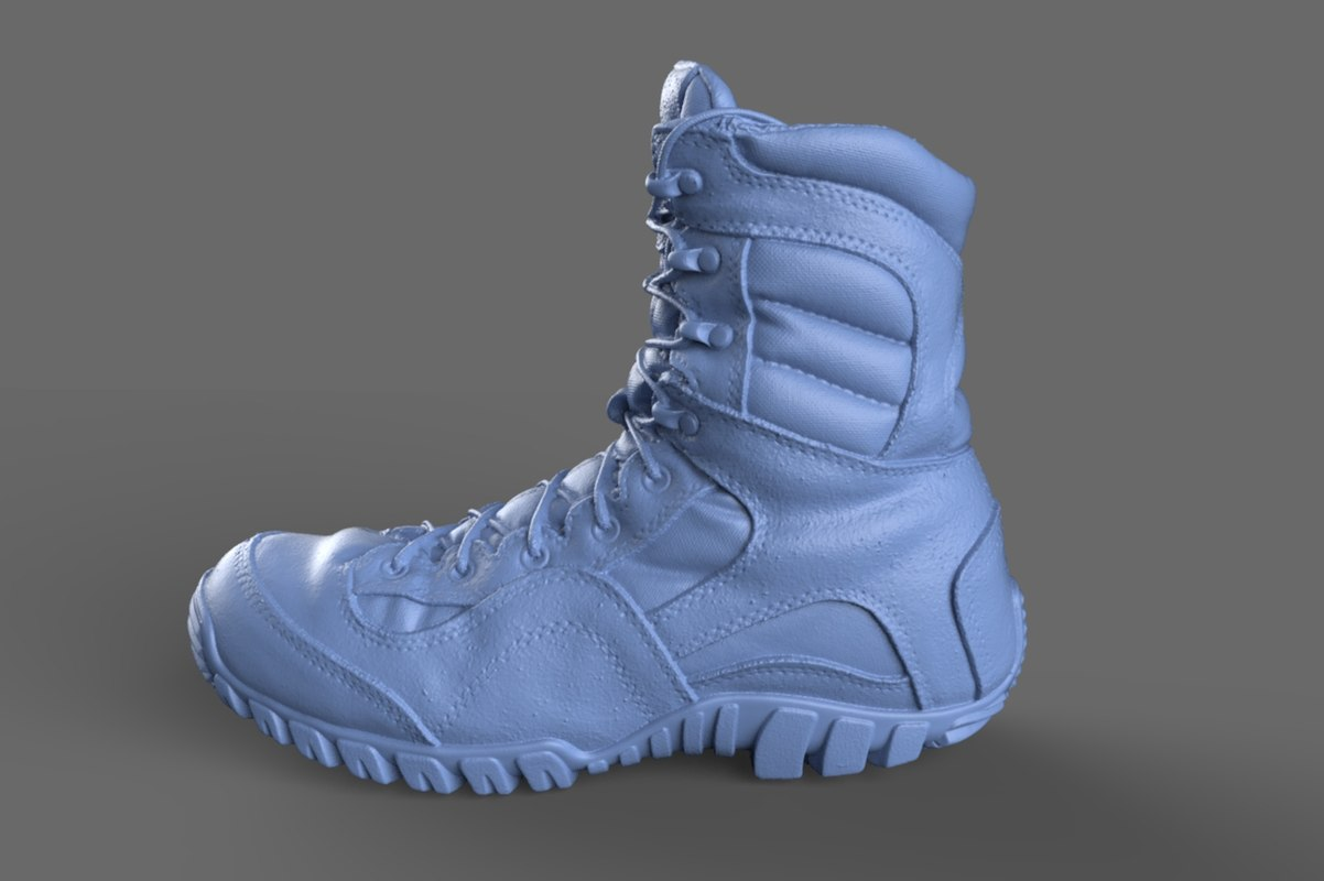 obj scan tactical research boot