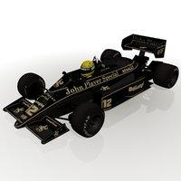 Ayrton Senna Lotus 98T