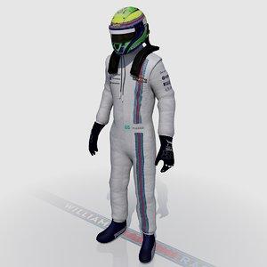 max formula driver felipe massa