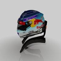 3d formula sebastian vettels 2014