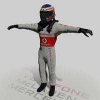 3d formula jenson button 2013
