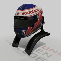 Jenson Button Helmet 2013