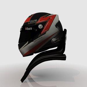3d model kimi raikkonen s 2013