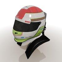 Sergio Perez 2012 Helmet