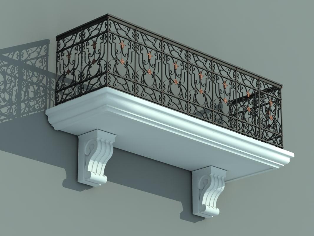 max balcony iron fence