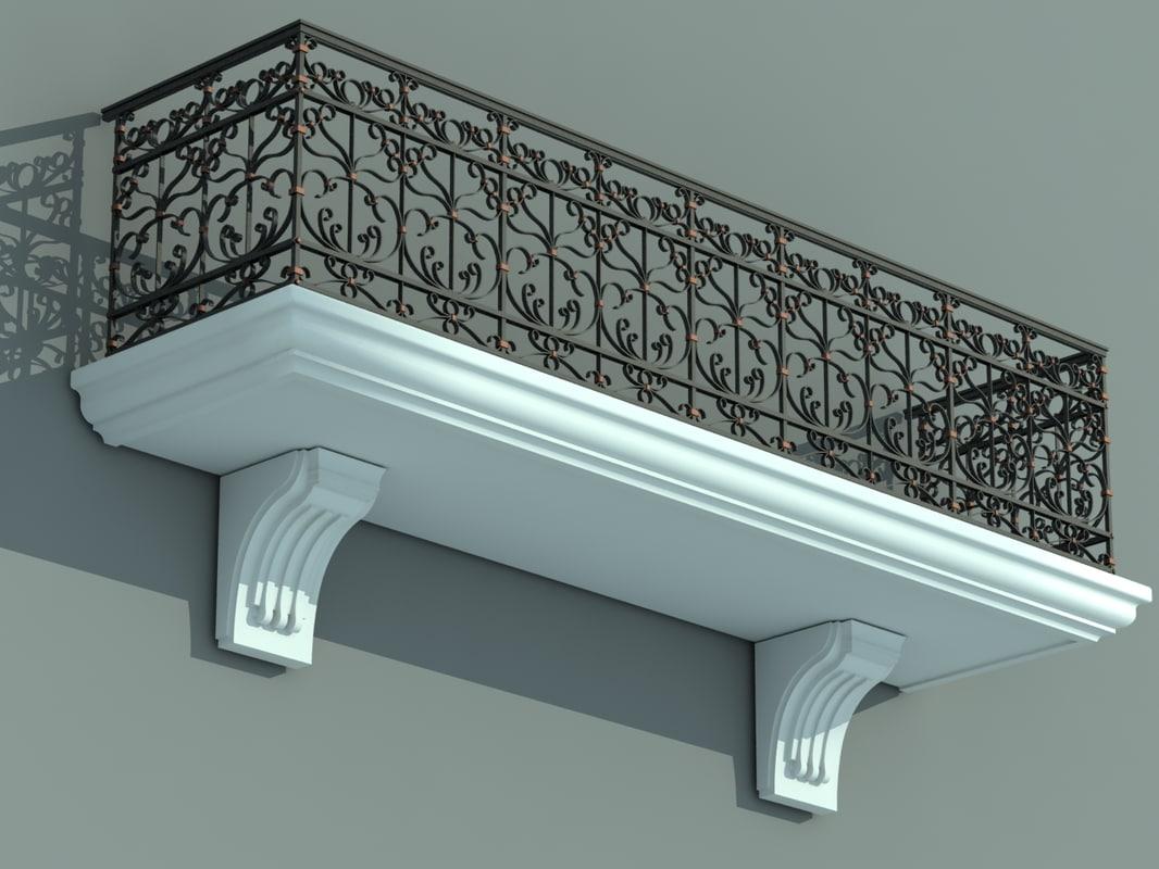 architectural balcony max