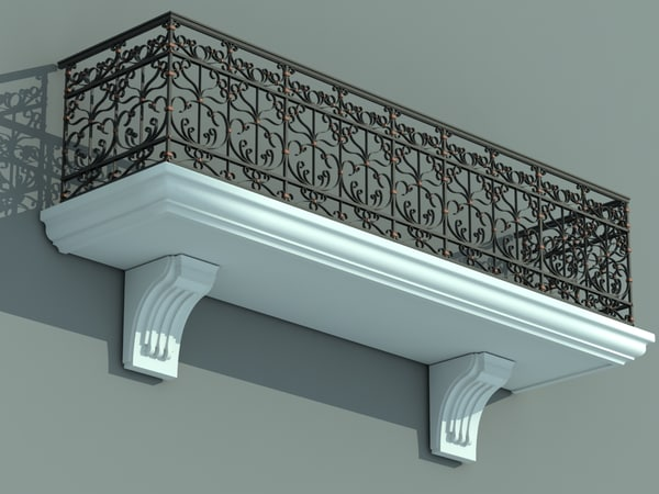architectural balcony max