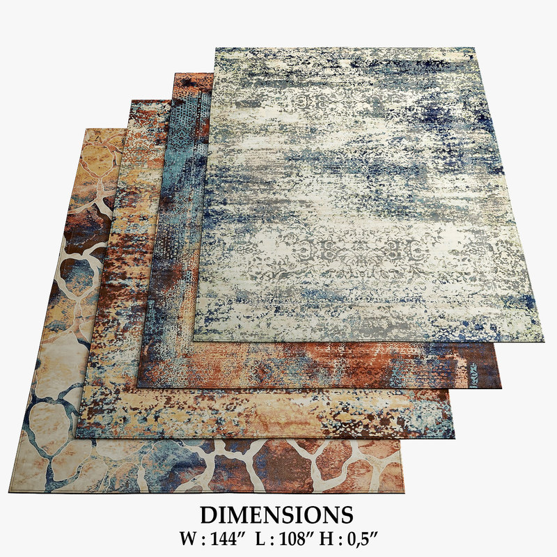 3D area rugs 12