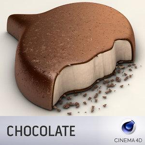 3d speech chocolate