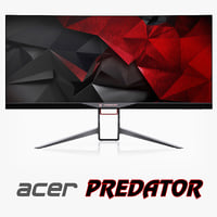 3d curved monitor acer predator model