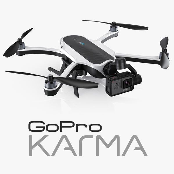 3d gopro karma drone hero5