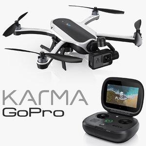 gopro karma controller hero5 3ds
