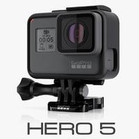3d model gopro black cameras