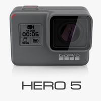 3d gopro black cameras model