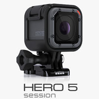3d model gopro session cameras
