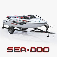 SEA-DOO Speedster 200 and trailer