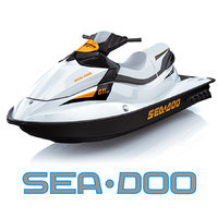 speed watercraft sea doo 3d model