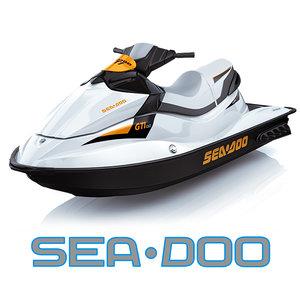 speed watercraft sea doo 3d model