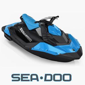 3d model sea-doo spark