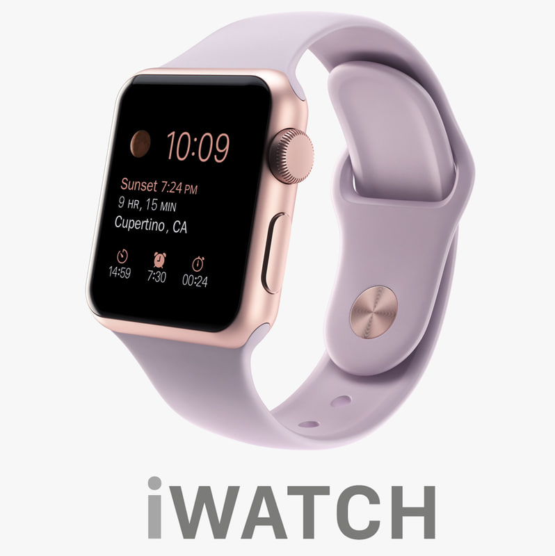 apple watch 38mm rose 3ds