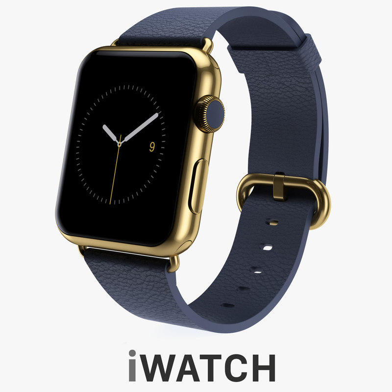 3d apple watch edition 42mm model