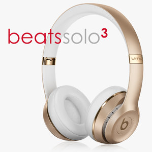 3d beats solo3 gold wireless