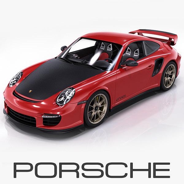 porsche 911 gt2 rs 3d 3ds
