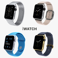 3d apple watch