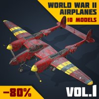 Real-Time Airplanes Collection Vol.1