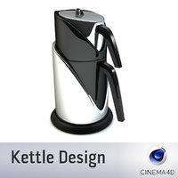 3d kettle t model