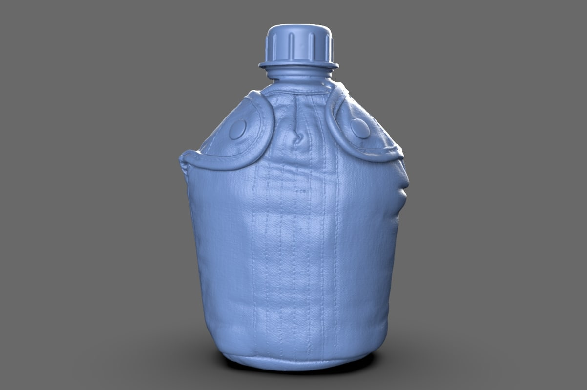 scan military canteen 3d model