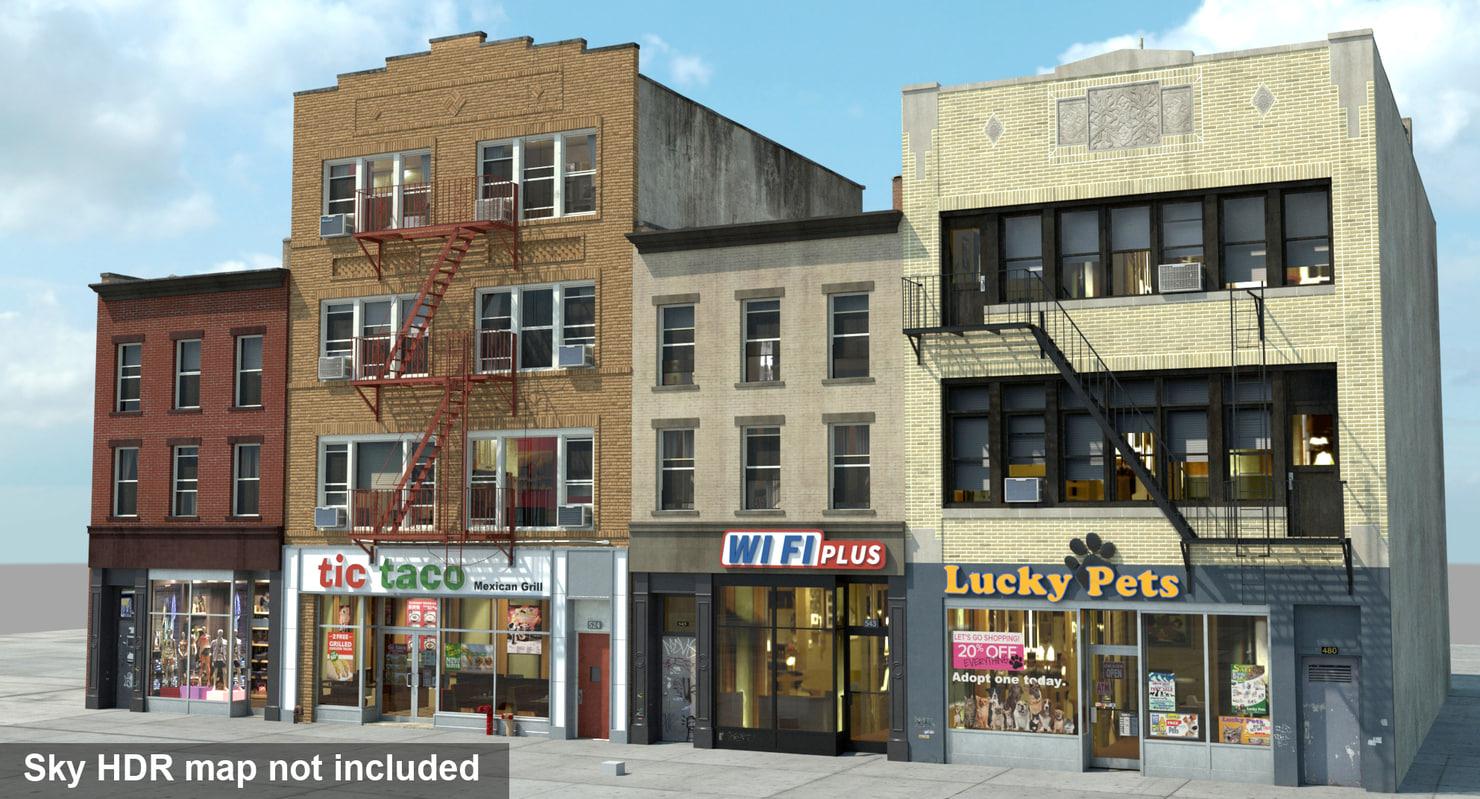 3d model nyc buildings
