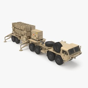heavy truck hemtt patriot 3d model