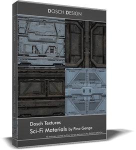 DOSCH Textures - SciFi Materials