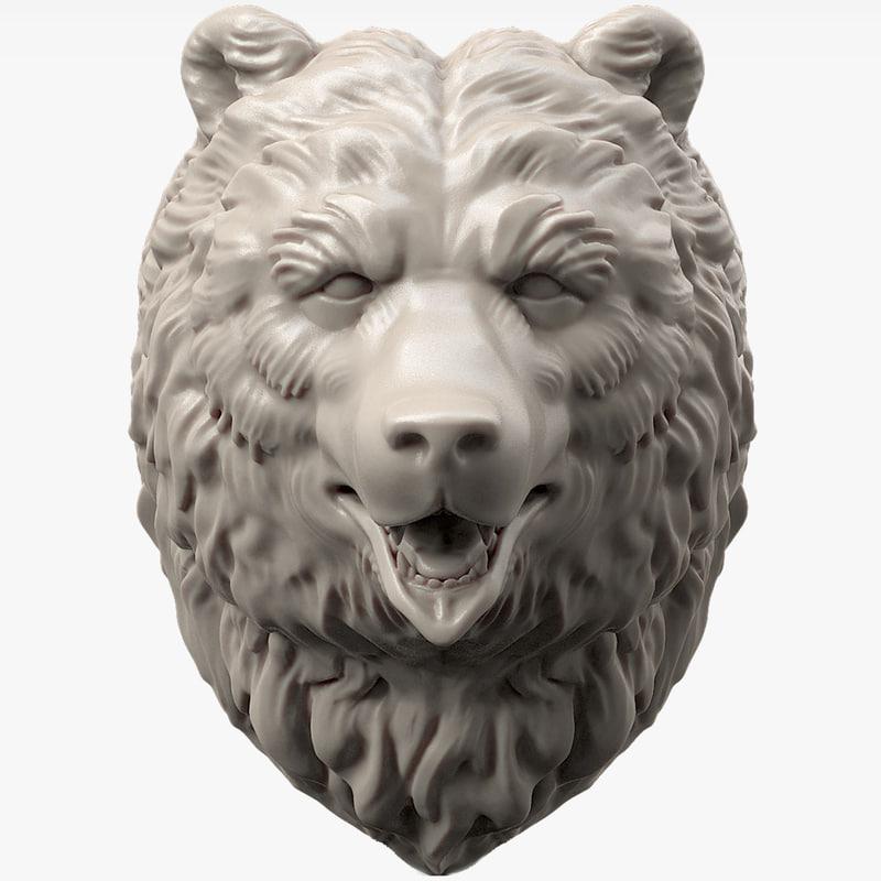 bear head max