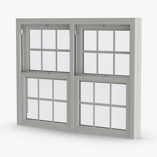 3D standard-windows---window-5-closed model