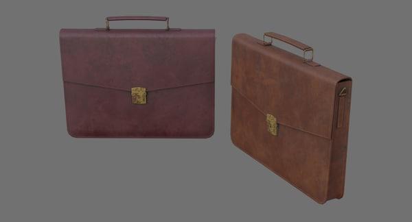 3D briefcase 1c