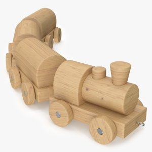 max wooden train toy