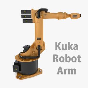 3d model kuka robot kr