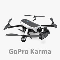gopro karma drone hero 3d model